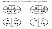 Which Number complete this puzzle?